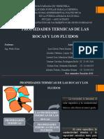 propiedades térmicas de las rocas y de los fluidos