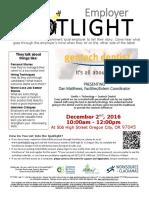 Employer Spotlights December 2016