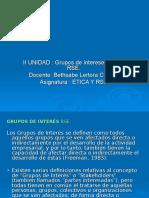 II Unidad Grupos de La Rse (1)