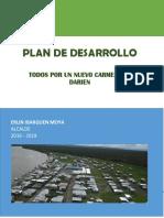 Plan de Desarrollo Carmen Del Darien