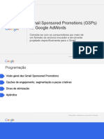 Anúncios GSP - Gmail Sponsored Promotions