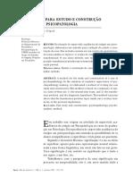 Um Método Para Estudo e Construção Do Caso Em Psicopatologia