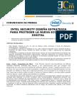 NP Intel Security -Intel security diseña estrategia para proteger la nueva economía digital