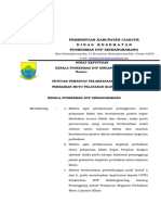 Sk Petugas Pemantau Pelaksanaan Kegiatan Perbaikan Mutu Pelayanan Klinis