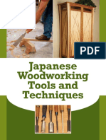 Japanese Woodworking Tools and Techniques