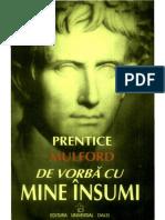 Prentice MULFORD De Vorba Cu Mine Insumi
