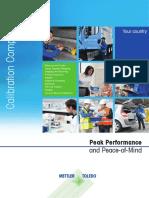 Calibration Brochure