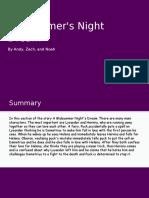 a midsummers night dream