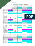 Calendario Plan Lector 16/17