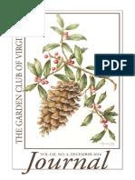 Garden Club of Virginia December 2016 Journal