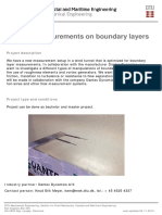 Boundary Layer Hotwire