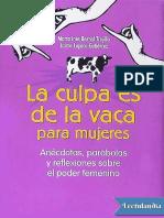 La Culpa Es de La Vaca Para Mujeres - Jaime Lopera Gutierrez
