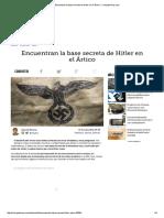 Encuentran La Base Secreta de Hitler en El Ártico - ComputerHoy
