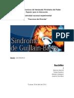 Trabajo de Sindrome de Guillain Barre