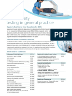 Bone Density Testing in General Practice