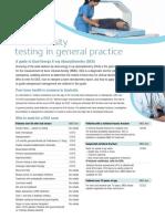 Bone Density Testing in General Practice