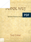 Popol Wuj, Version Poetica Kiche