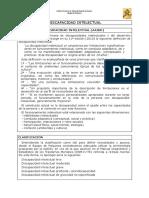 Discapacidad Intelectual AAIDD Definicion