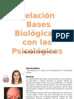 Relación de Bases Biológicas con las Psicologicas