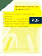 Planificación y Control de La Produccion