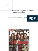 Detailed Magazine Analysis of Classic Rock Magazine