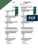 Examen Manual de Iglesia Cap 1-3