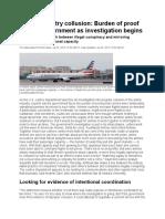 Anti-Collusion News Report