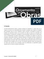 Orcamento de Obras - 2013