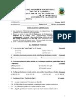 HIDRAULICA Examen Segundo Parcial 2016 t1 ESPOL