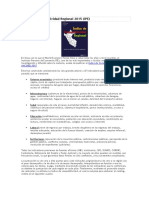 Índice de Competitividad Regional 2015