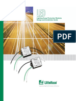 Littelfuse LED Lighting SPD Module Design and Installation Guide