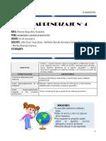 Guía 1s Sociales IV Bimestre