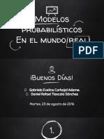 Modelos Probabilísticos en el Mundo Real