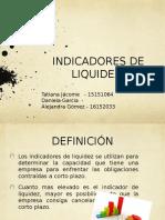 Indice de Liquidez, Gestion Contable