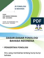 Dasar-dasar Fonologi dan Morfologi Bahasa Indonesia