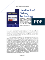 Handbook of Fishing Technology - CIFT Book Release Brochure