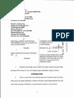 Carrow vs. FedEx Complaint