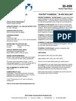 Foster 30-45 Ficha Tecnica