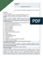 Qualidade - UNIFESP/SJC