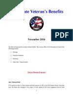 Vet State Benefits & Discounts - IA 2016