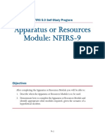 Nfirs Module 9 Apparatus or Resources