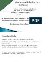 Carlameireles-A Descrição Termodinâmica Das Misturas AULA 2