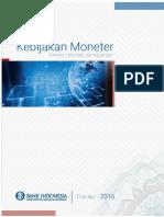 Laporan Kebijakan Moneter Triwulan I 2016