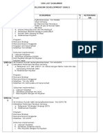 Mdgs Ceklist Dokumen