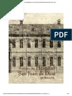 Hospital San Juan de Dios by Instituto Distrital Patrimonio Cultural