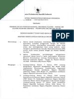 Permenperin No.78 2015 Tangki Air PE