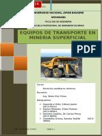 Monografia de Mina Superficial