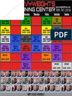 HWTC Schedule Sept1
