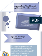 Pengendalian Atas Strategi yang Bereda (Terdiferensiasi)