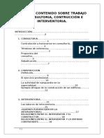 CONSULTORIA, CONSTRUCCIÓN E INTERVENTORIA.